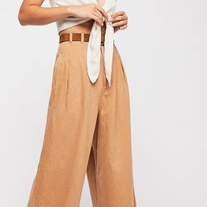 Free People River Winds Pleated Pant